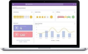 The Purple WiFi app now includes a Social Responsibility Dashboard.